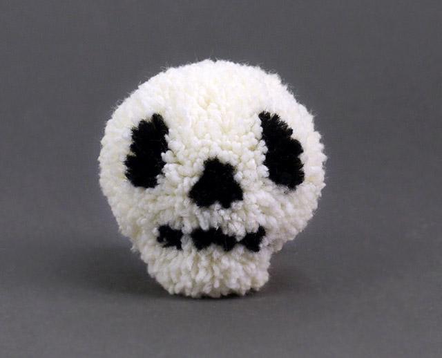 Halloween-pompon