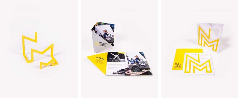 Visual identity for the National Military Museum branding