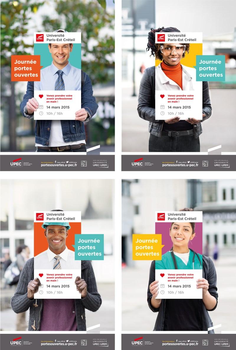 Campagne de communication enseignement supérieur