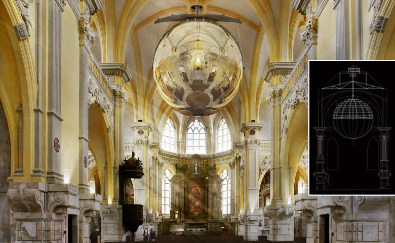 projet globe chapelle corneille