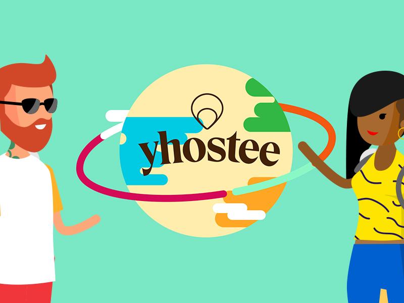 Partage tes passions avec Yhostee – Motion design