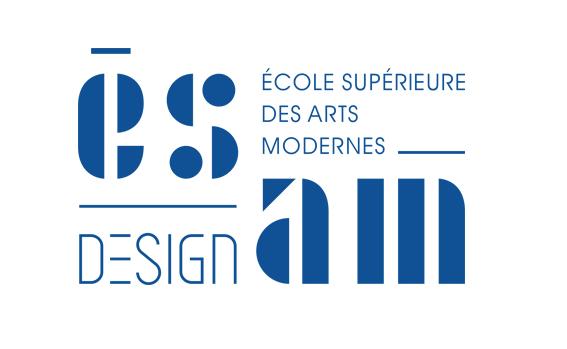 Un logo typo pour l'ESAM, École de design