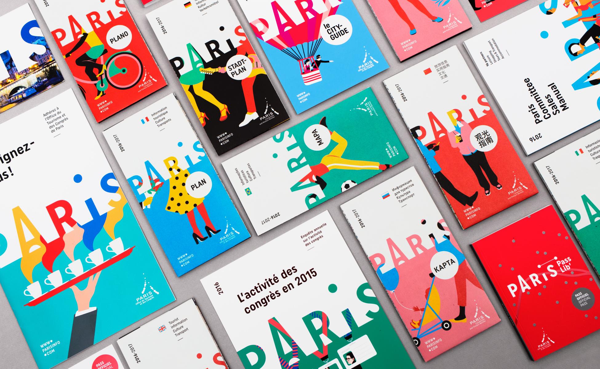 46ba17ea Paris Convention and Visitors Bureau rebranding - Graphéine