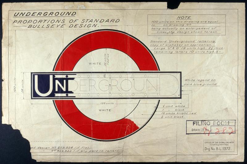 La typographie du métro londonien se refait une beauté pour ses 100 ans !