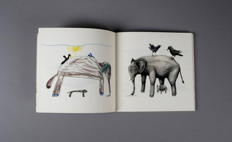 graphisme enfant elephant