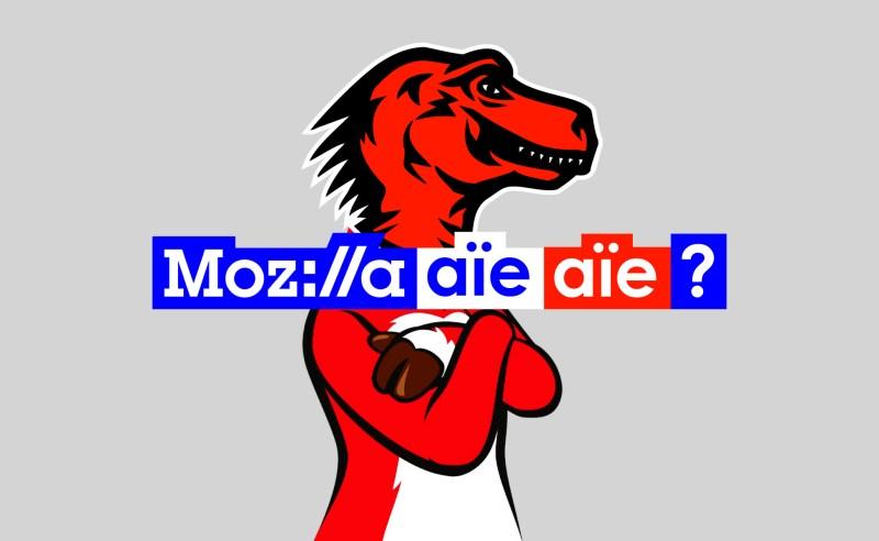 L'identité visuelle de Mozilla, aïe, aïe !
