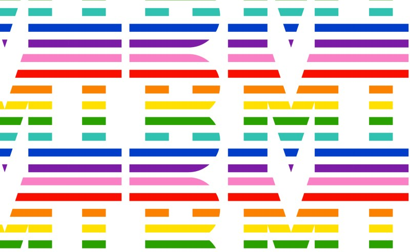 IBM fait son coming out avec un logo arc-en-ciel !