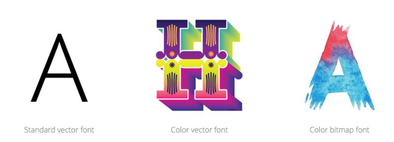 color-font