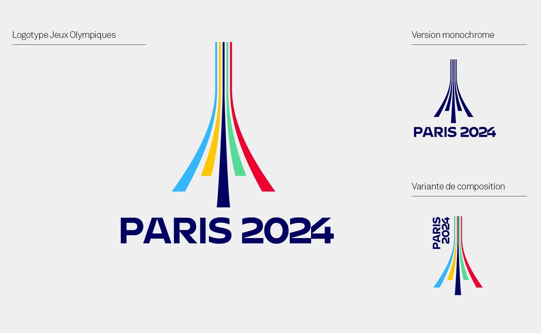 logo paris 2024 Olympic Games jeux olympiques