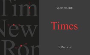 Font Times New Roman histoire