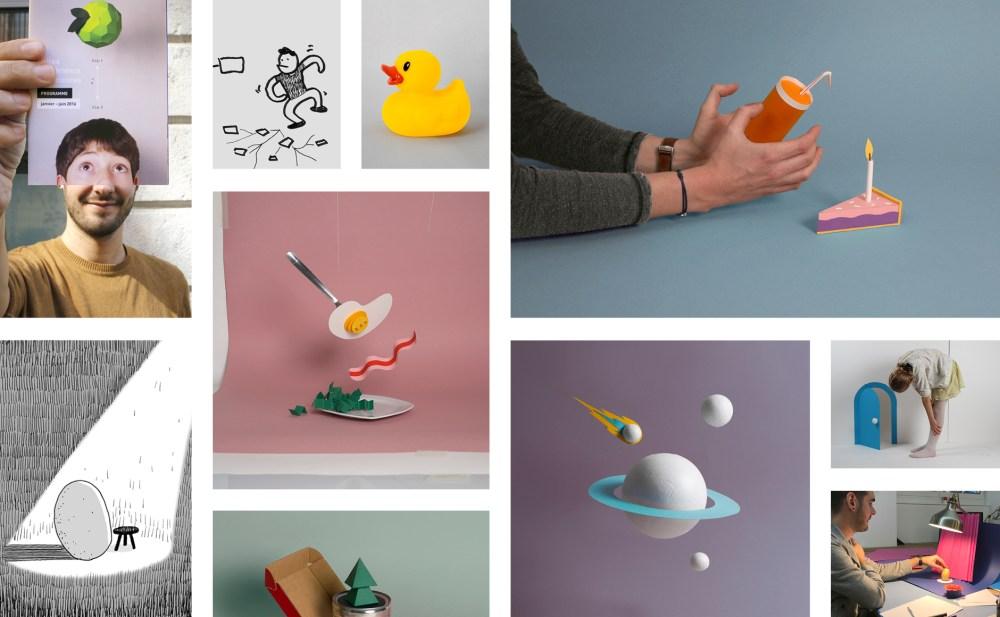 recherches créatives affiches