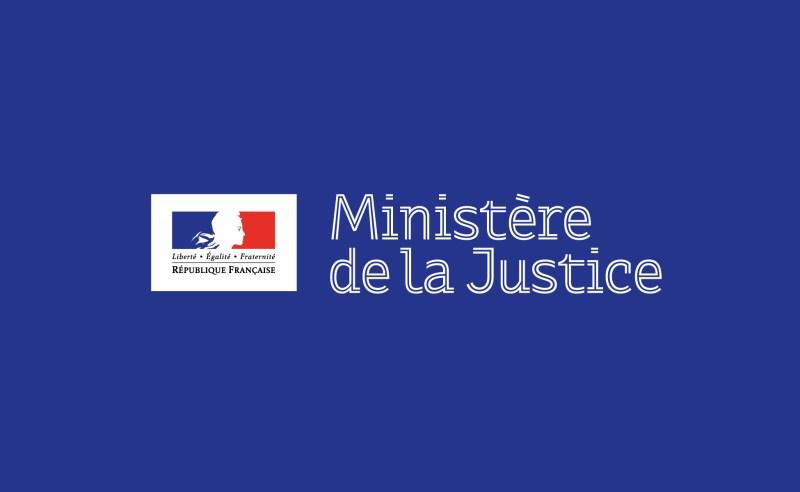 Identité visuelle branding institutionnel ministère justice