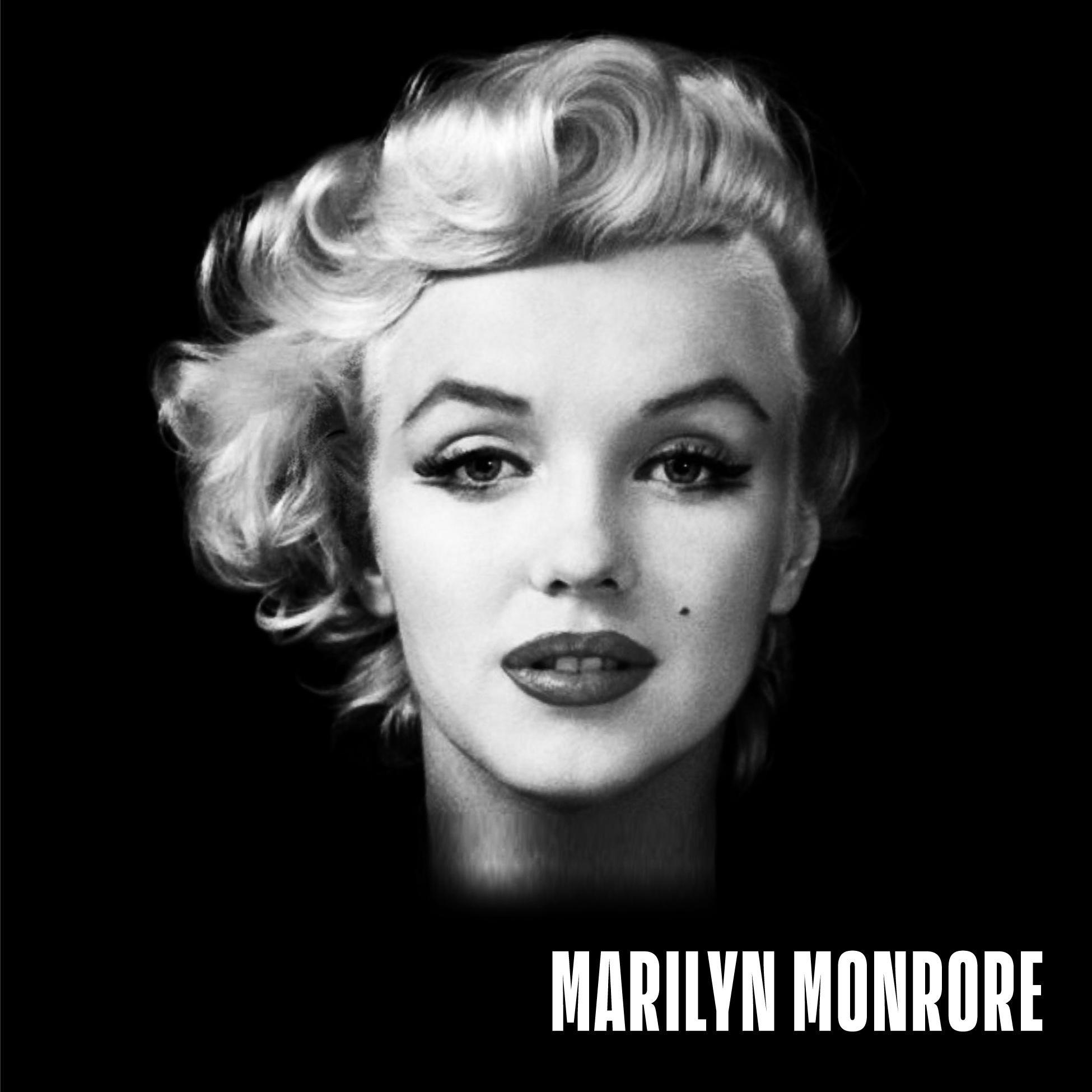 Marilyn Manson Monroe Hybrid Images