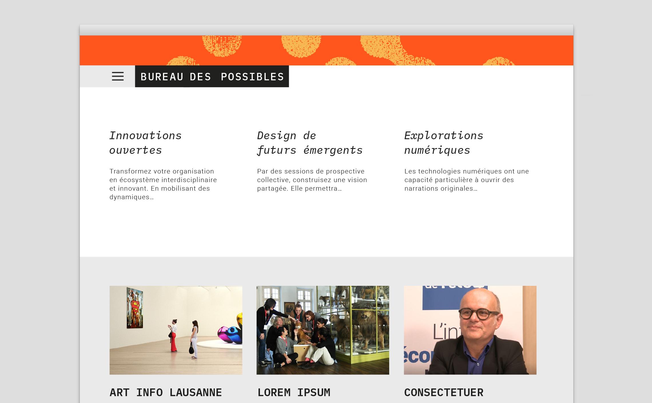 UX webdesign