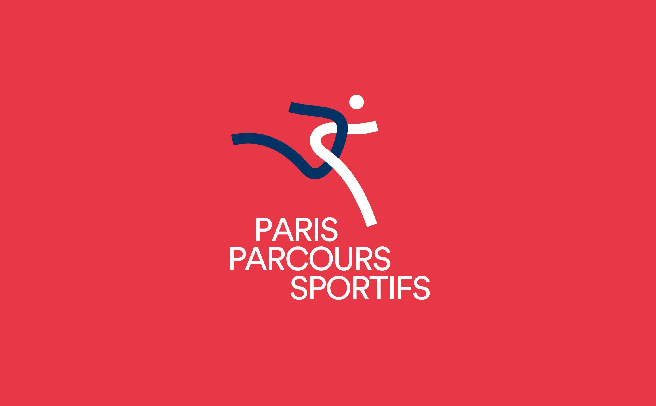 Logo parcours sport paris ville