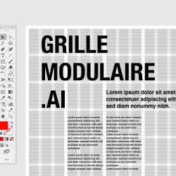Grille illustrator tutorial