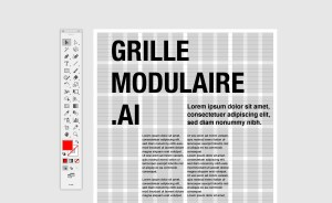 Grille illustrator tutorial