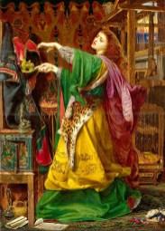 Frederick Sandys- Morgan-le-Fay, 1863