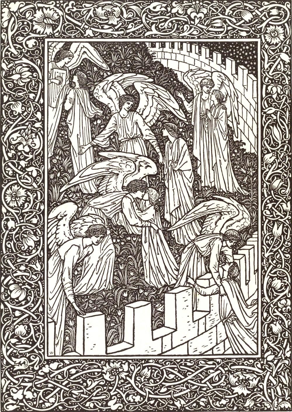 illustrations-arts-and-crafts-vieux-livre-golden-legend
