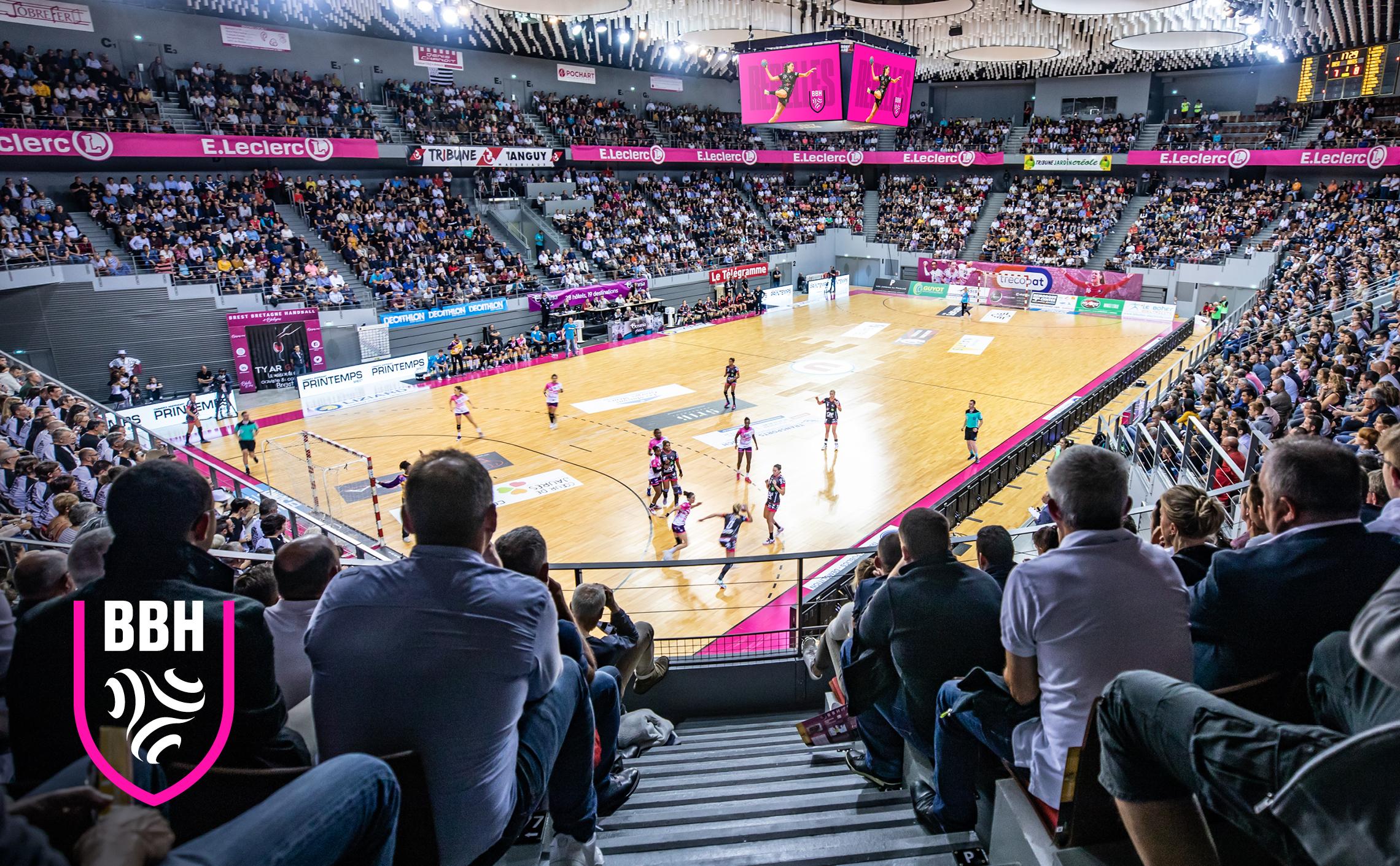 stade brest arena handball branding communication club sport