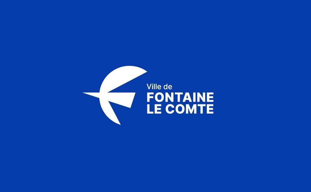 identité visuelle ville de fontaine-le-comte Poitiers