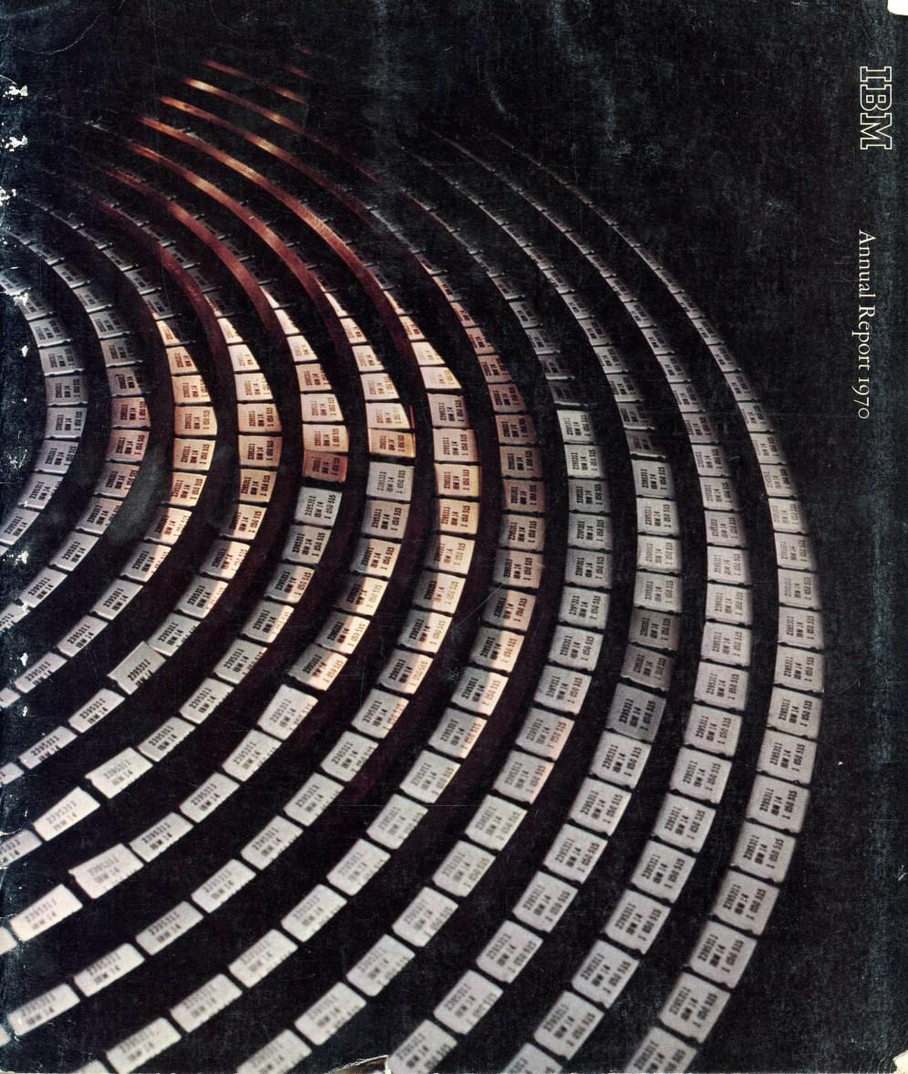 IBM Annual Report, 1970