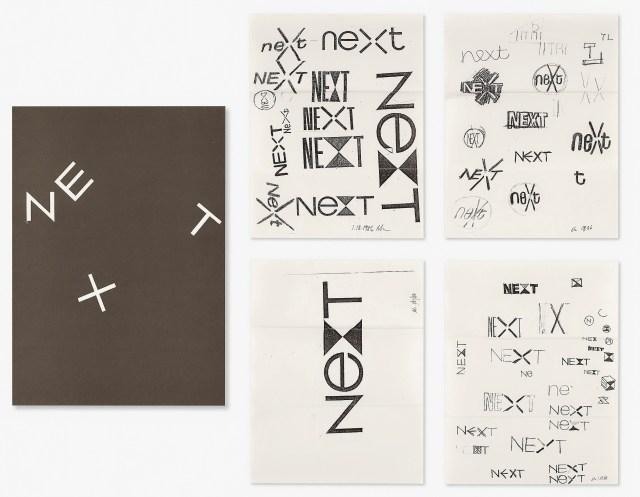 NeXT Logo Sketches 08
