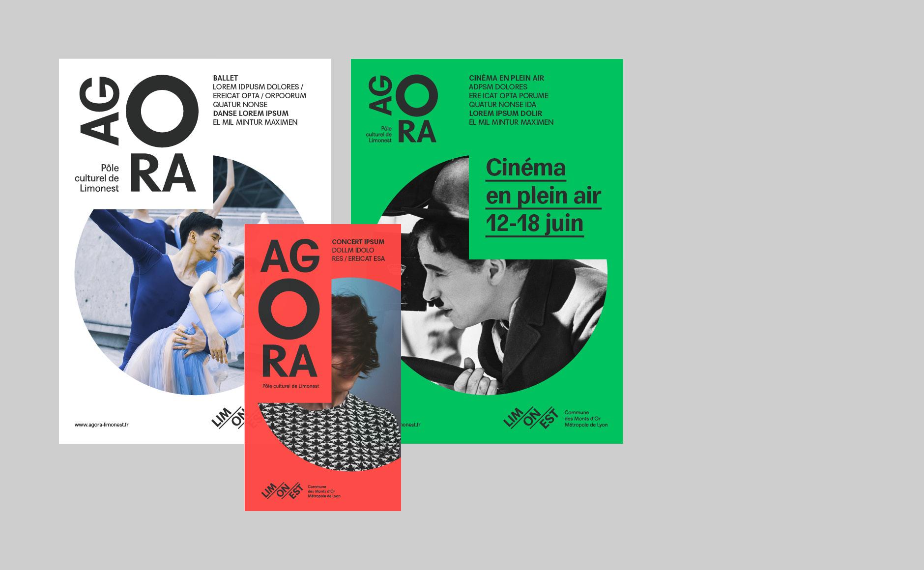 design graphique plaquette programme