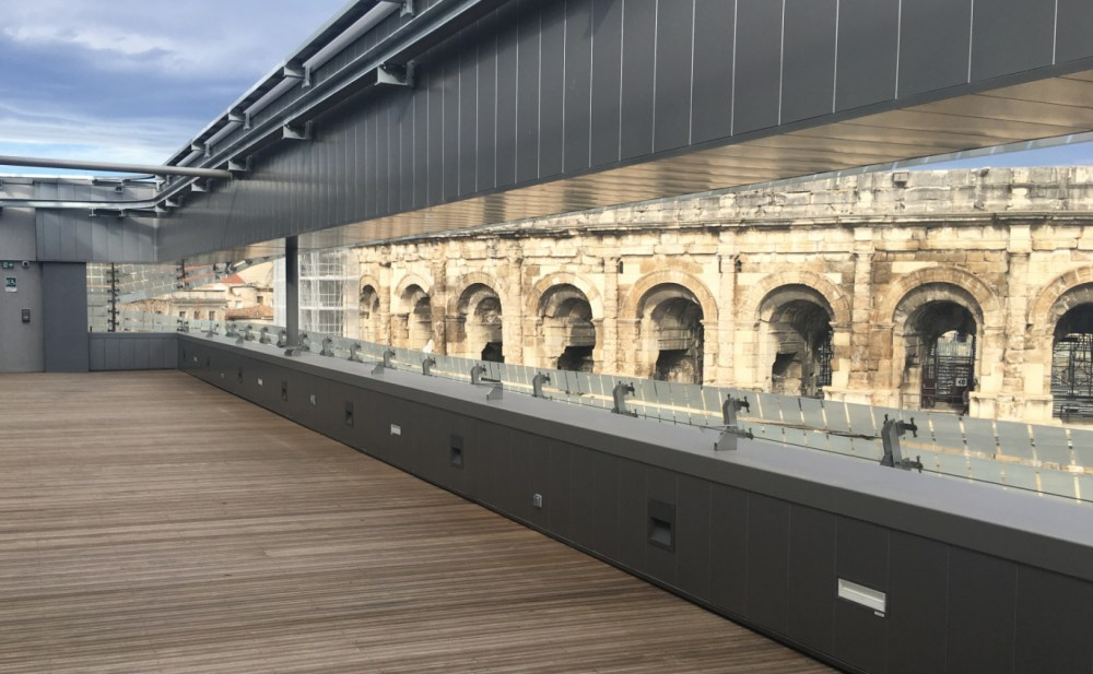 architecture musée nimes