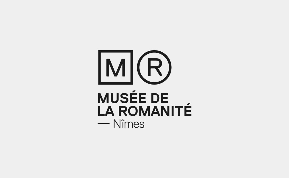 logotype branding musée Romanité