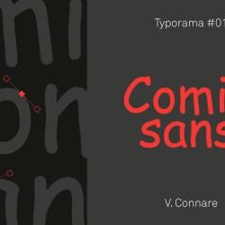Comic sans typographie