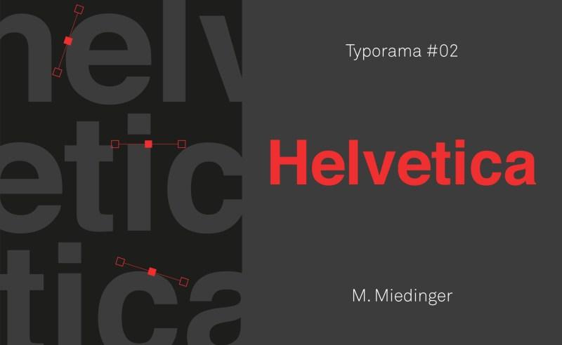 histoire de la typographie Helvetica