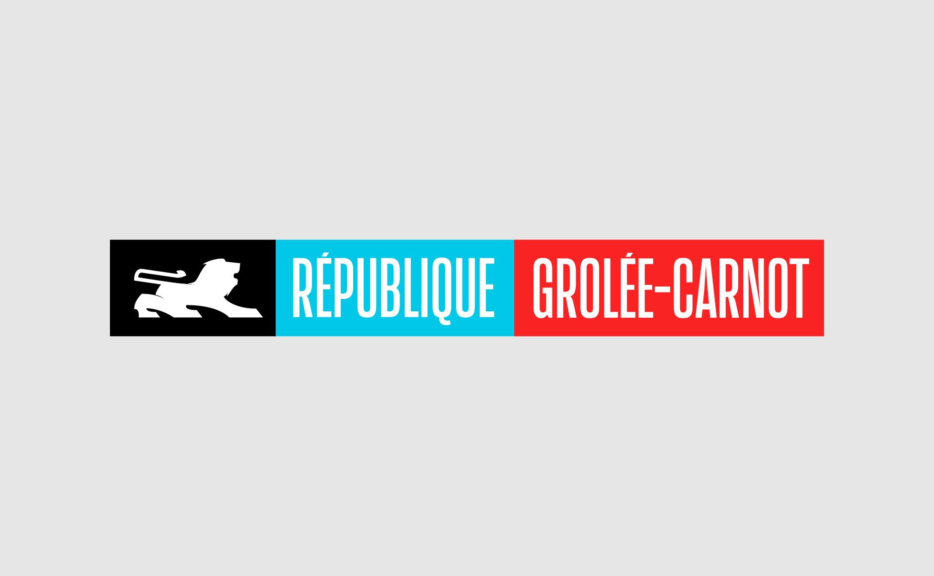 Logo rue de la république Branding responsif