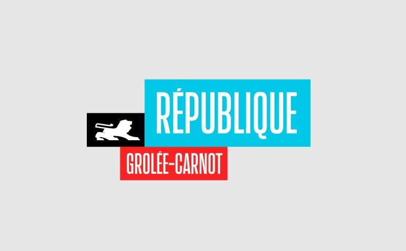 République – Grolée-Carnot : Street branding