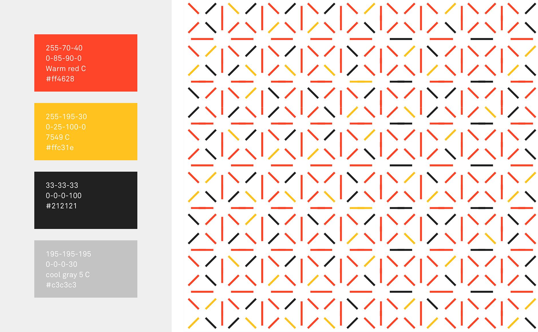 motif géométrique graphique