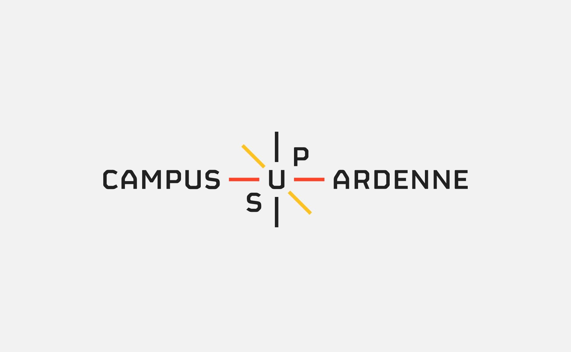 logo campus sup ardenne blanc