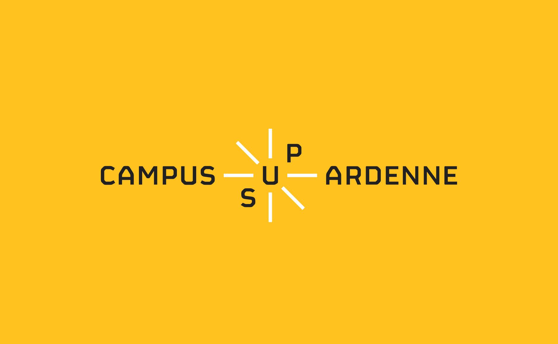 logo campus sup ardenne jaune