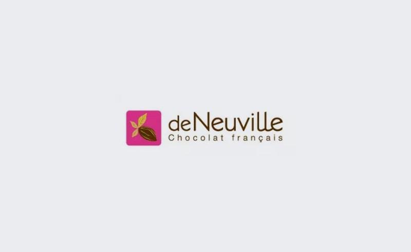 Un nouveau logo tout choco pour les chocolats de Neuville