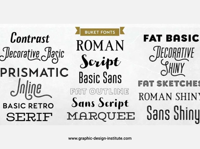 Professional fonts for Graphic Designer