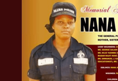 , Five Ghana Police Officers killed in last 30 days