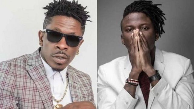 Stonebwoy and Shatta Wale Stripped Off Their Awards