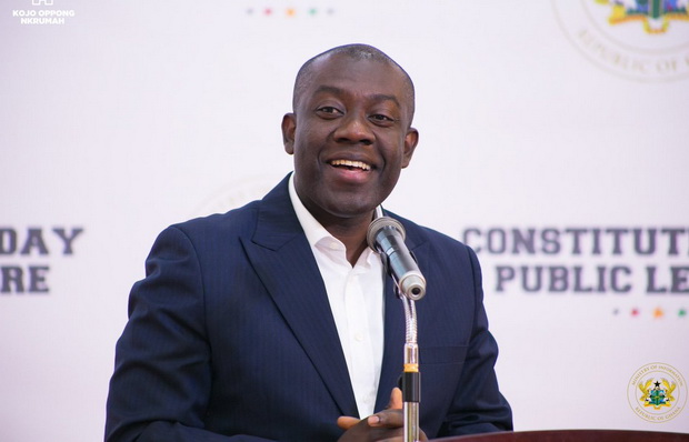 GJA congratulates Kojo Oppong Nkrumah on his selection as Young Global  Leader - Graphic Online
