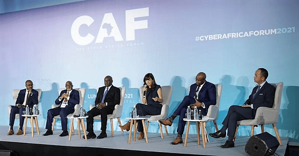 Discussants at the Cyber Africa Forum