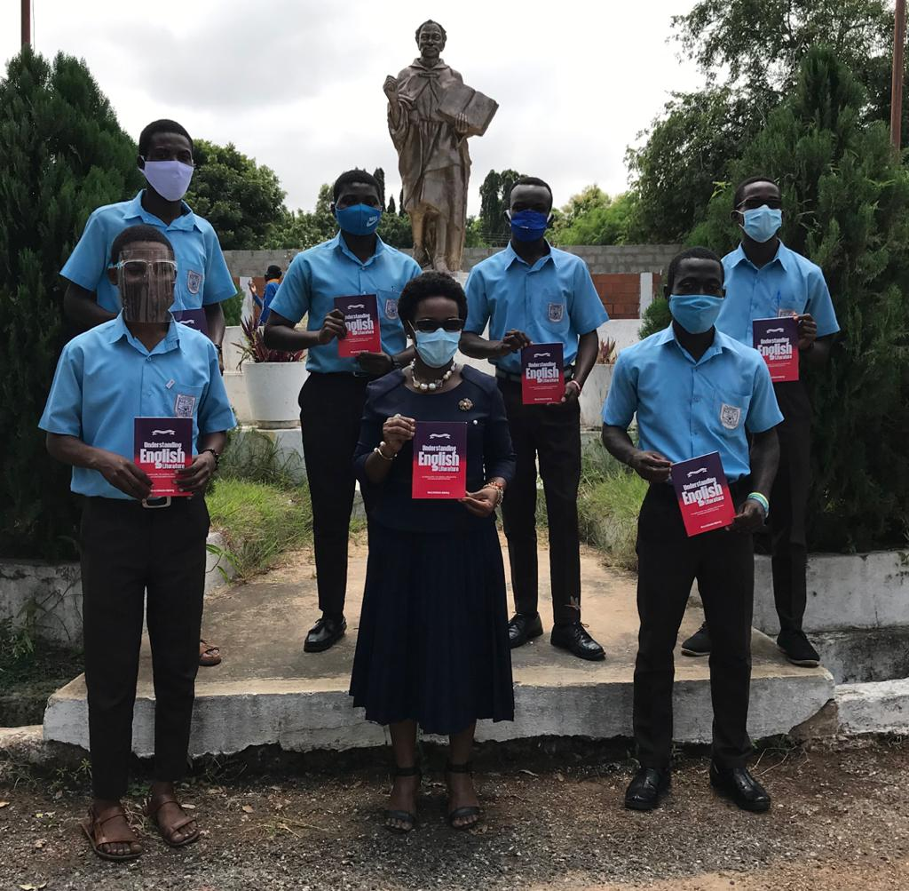English language and Literature books donated to St. Thomas Aquinas, Forces SHS 4