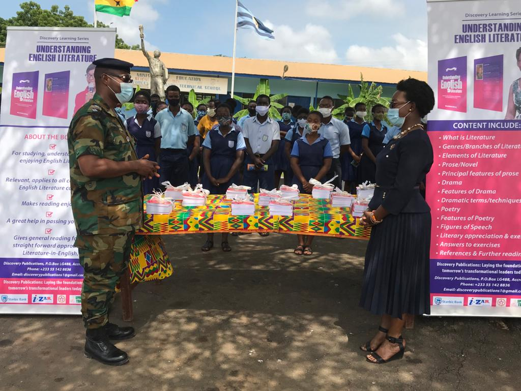 English language and Literature books donated to St. Thomas Aquinas, Forces SHS 5