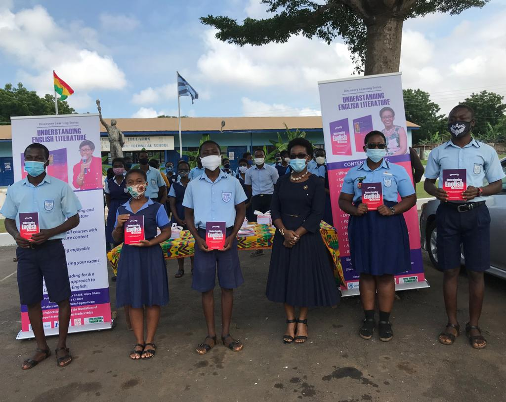 English language and Literature books donated to St. Thomas Aquinas, Forces SHS 3