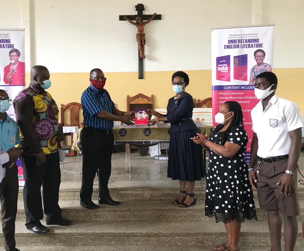 English language and Literature books donated to St. Thomas Aquinas, Forces SHS 1