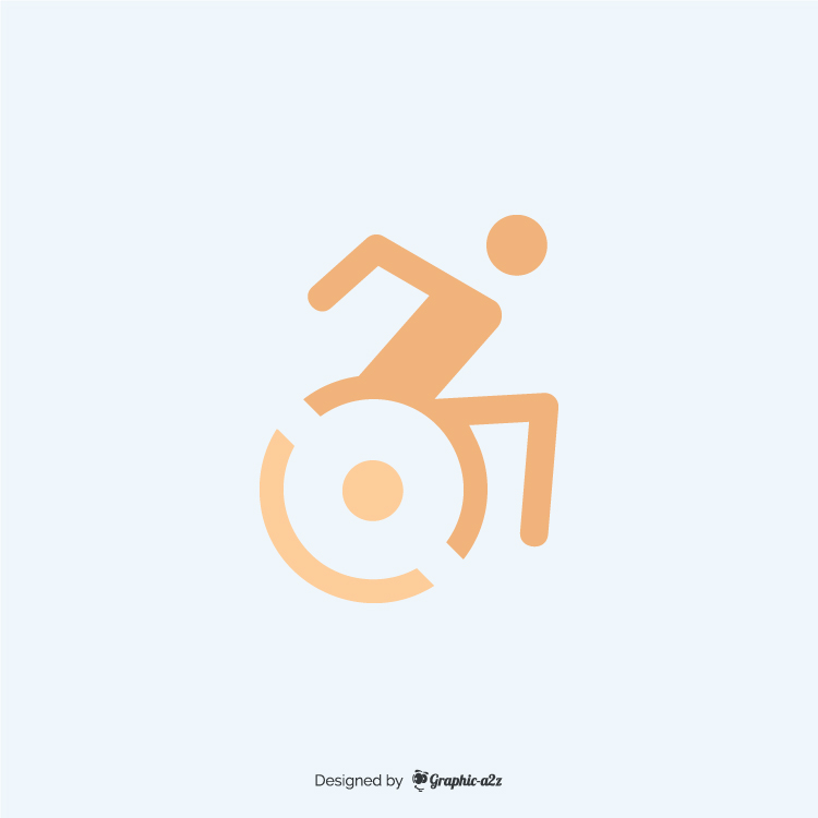 Accessible icon flat