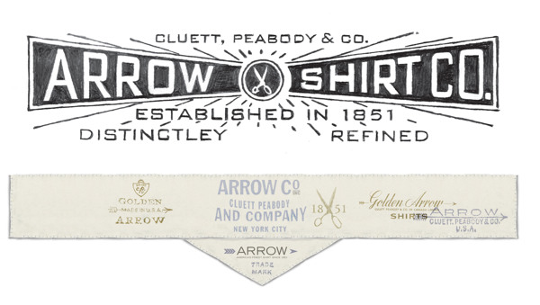 Arrow Cluett Labels and Packaging by Glenn Wolk 01