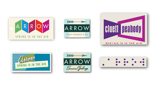 Arrow Cluett Labels and Packaging by Glenn Wolk 05